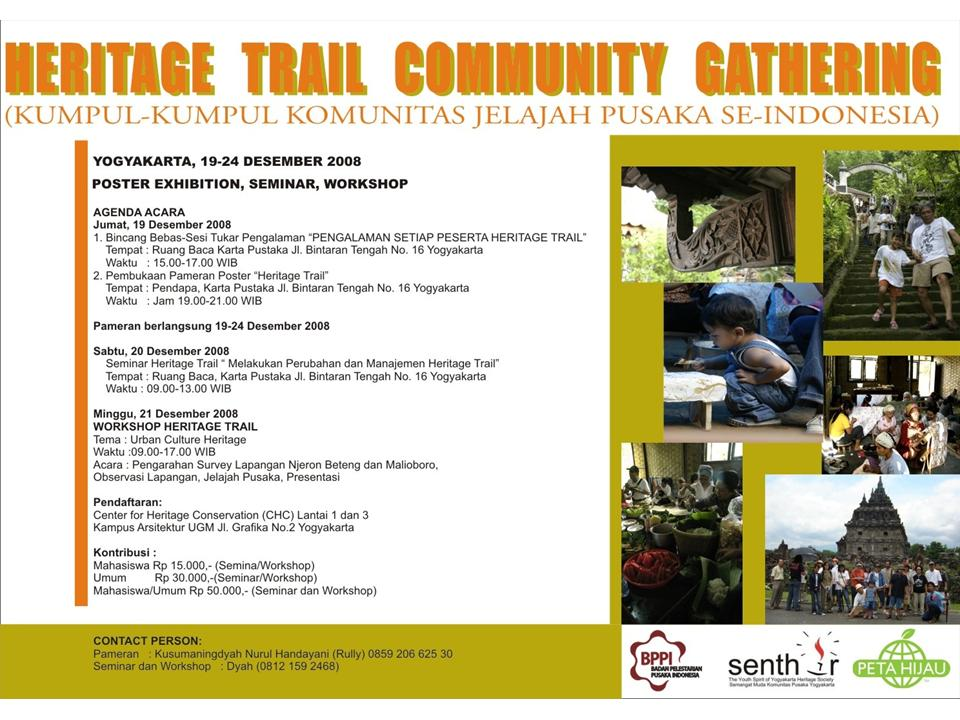 heritage trail community gathering